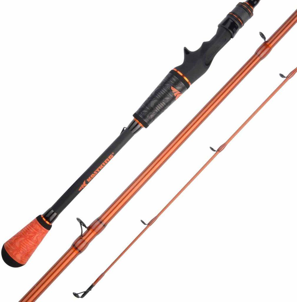 KastKing Speed Demon Pro Tournament Series Bass Fishing Rods, Elite Carbon High Modulus 1 Pc Blanks