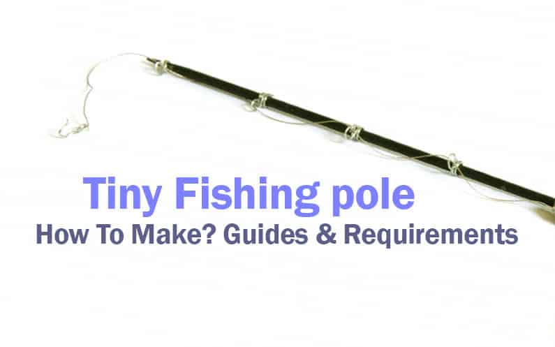 Tiny Fishing pole guides