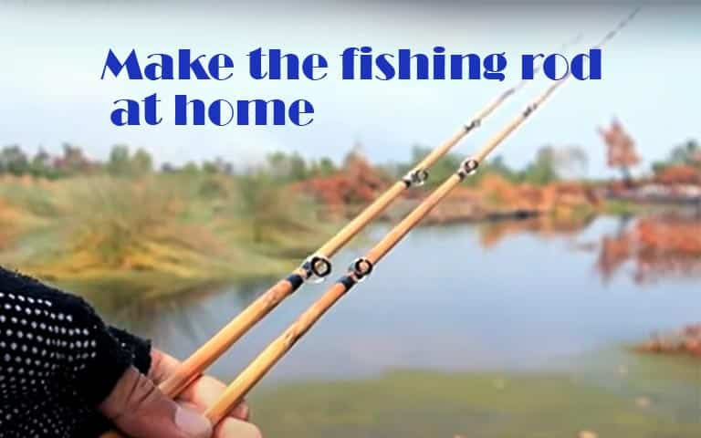 Know How to Make a Fishing Rod at Home – Simple Solution